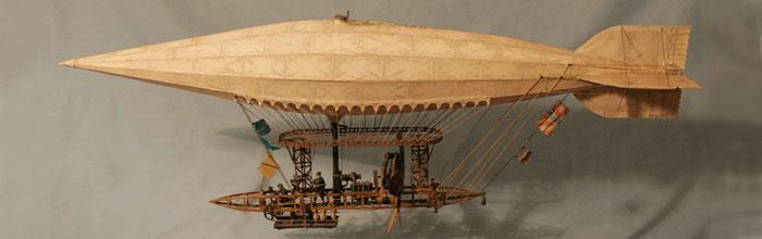 Objectes steampunk: William Wardrop i les seves maquetes retrofuturistesObjetos steampunk: William Wardrop y sus maquetas retrofuturistasSteampunk objects: William Wardrop & its retrofuturist models